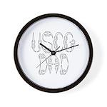 USCG Dad Wall Clock
