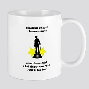 Nursing Pimp of the Year Mug