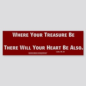 Treasure #3 Bumper Sticker