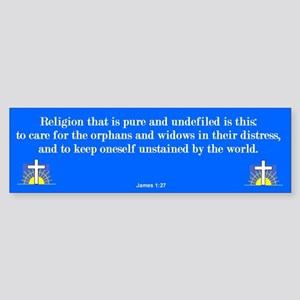 Pure Religion Bumper Sticker