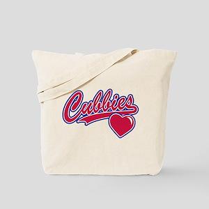 Cubbies Love Tote Bag