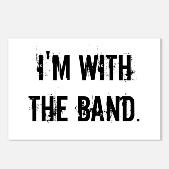 I'm With the Band. Postcards (Package of 8)