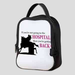 Barrel Racer: Hospital Neoprene Lunch Bag