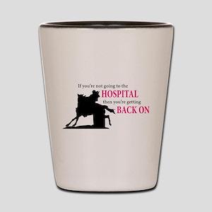 Barrel Racer: Hospital Shot Glass
