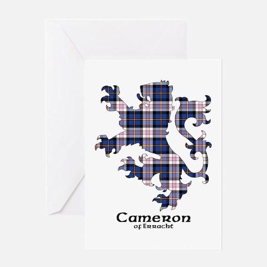 Lion-Cameron.Erracht dress Greeting Card