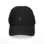 Wink Emoticon - Mistletoe Black Cap