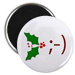 Wink Emoticon - Mistletoe Magnet