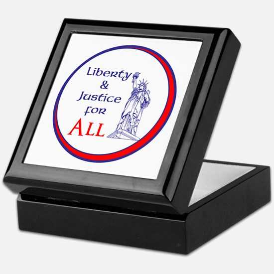 Liberty and Justice for All Keepsake Box