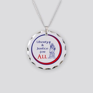 Liberty and Justice for All Necklace