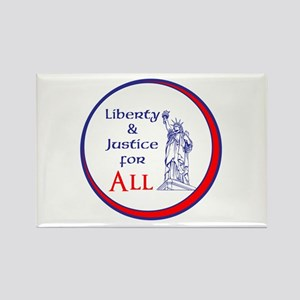 Liberty and Justice for All Magnets