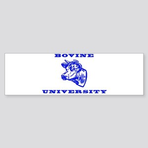 Bovine University Bumper Sticker