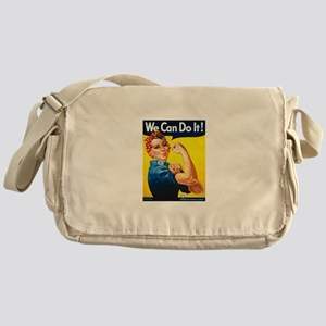 Rosie The Riveter-We Can Do It! Messenger Bag