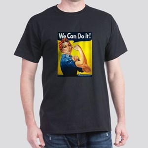 Rosie The Riveter-We Can Do It! Dark T-Shirt