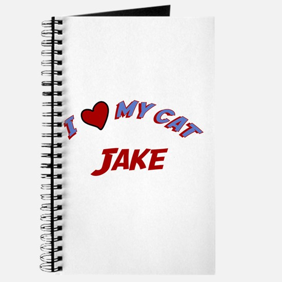 I Love My Cat Jake Journal