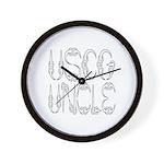 USCG Uncle Wall Clock