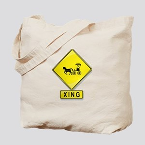 Horse and Buggy XING Tote Bag