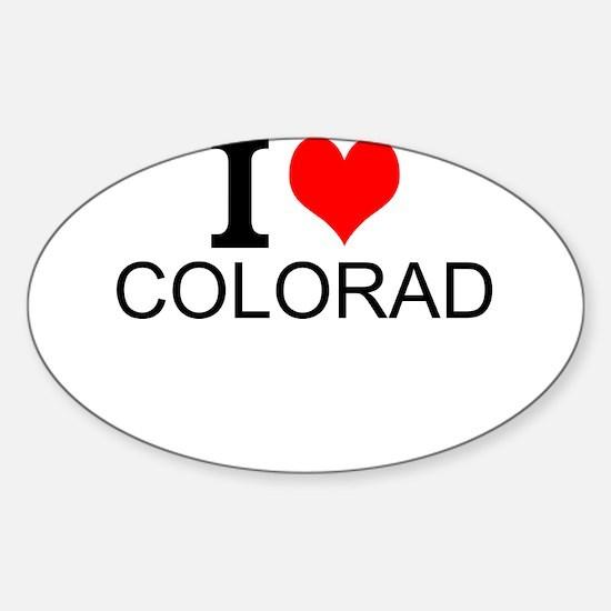 I Love Colorado Decal