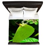 Cloudless Sulfur Butterfly King Duvet
