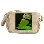 Cloudless Sulfur Butterfly Messenger Bag