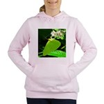 Cloudless Sulfur Butterfly Women's Hooded Sweatshi
