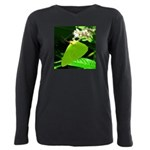 Cloudless Sulfur Butterfly Plus Size Long Sleeve T