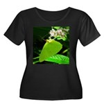 Cloudless Sulfur Butterfly Plus Size T-Shirt