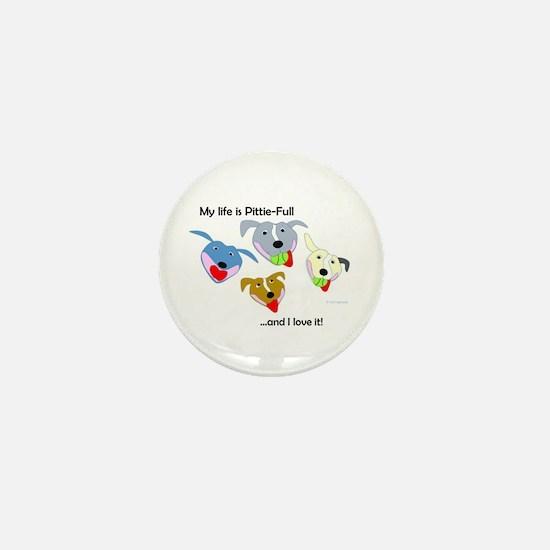 Cute Pittie Mini Button