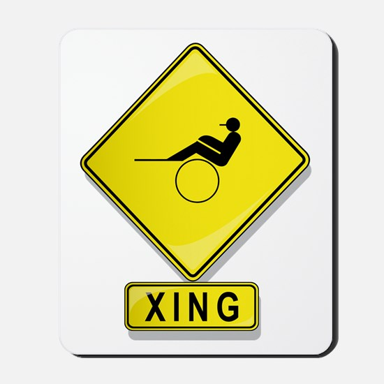 Harness Racer XING Mousepad