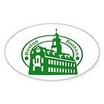 Boston Oval Sticker