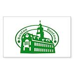 Boston Rectangle Sticker