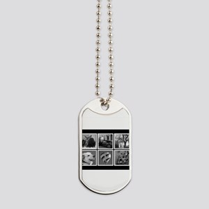 Photo Blocks Your Images Here Dog Tags