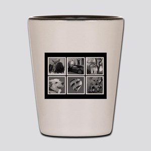 Photo Blocks Your Images Here Shot Glass