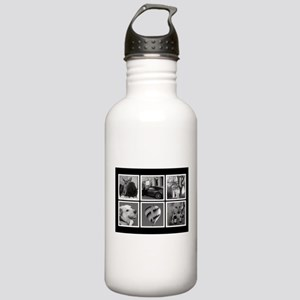Photo Blocks Your Images Here Water Bottle