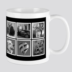 Photo Blocks Your Images Here Mugs