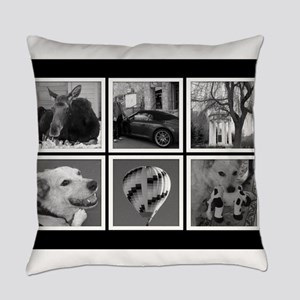 Photo Blocks Your Images Here Everyday Pillow