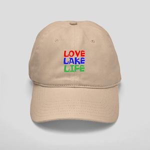 LOVE LAKE LIFE Baseball Cap