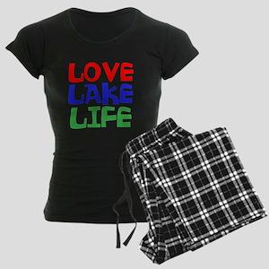 LOVE LAKE LIFE Pajamas