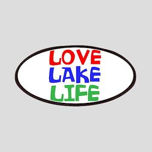 LOVE LAKE LIFE Patch