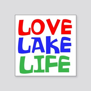 LOVE LAKE LIFE Sticker