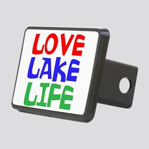 LOVE LAKE LIFE Hitch Cover