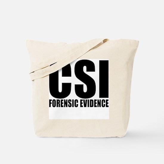 "CSI ""Forensic Evidence"" Tote Bag"