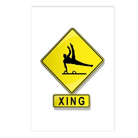 Gymnast XING Postcards (Package of 8)