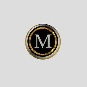 Monogram Design by LH Mini Button