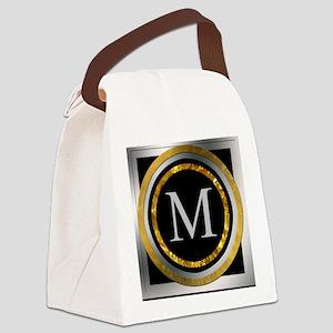 Monogram Design by LH Canvas Lunch Bag