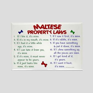 Maltese Property Laws 2 Rectangle Magnet