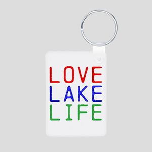 LOVE LAKE LIFE (TW) Aluminum Photo Keychain