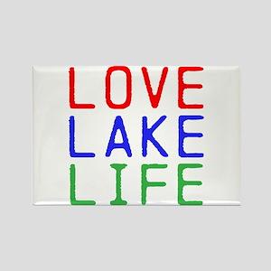 LOVE LAKE LIFE (TW) Rectangle Magnet