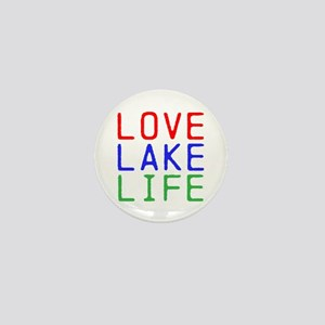 LOVE LAKE LIFE (TW) Mini Button