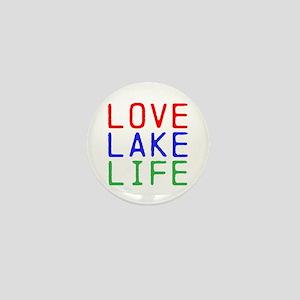 LOVE LAKE LIFE (TW) Mini Button