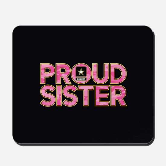 Proud Army Sister Mousepad